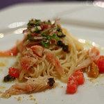 ブラッスリー・アダージョ - ズワイガニと完熟トマトのカッペリーニ