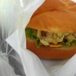 デルパパ - 料理写真:みきやまバーガー