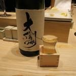 鳥おか - 日本酒2