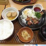 ガスト - 料理写真:若鶏の竜田揚げ 定食 \862