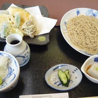 蕎彩庵 - 料理写真:野菜天もり