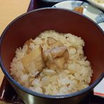 美濃吉 - 松茸ご飯