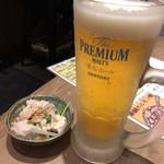 Aburishimizu - 「おつかれの一杯」とお通し