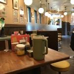 神戸ラーメン 第一旭 - 結構広くて、遊び心満載の店内レイアウトで楽しめるお店です(2018.9.23)