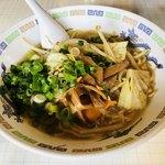 蘭蘭 - 野菜ラーメン ¥630