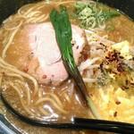 ラーメン札幌 一粒庵 - 【2018/9】ふわふわたまご〜美味しかった!