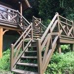 カレーハウス木里吉里 - お店への階段