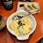 93257396 - 焼きポテサラ・餃子