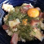 漁師カフェ 堂ヶ島食堂 - ぶっかけ丼アップ