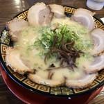 長浜ラーメン - 料理写真:2018年9月23日  チャーシューメン 840円