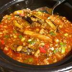 中国料理 菜心 - 土鍋入り麻婆茄子