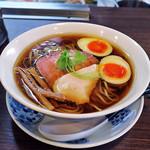 93265901 - 醤油らぁ麺with味玉