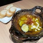 日本酒個室バル かぐら - 秋野菜の和ヒージョ