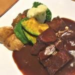 レストラン141 - 180923日 長野 レストラン141  ビーフシチュー