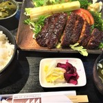 93268854 - 180923日 長野 レストラン141  みそかつ定食1,000円