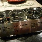 無垢根亭 - 日本酒♫呑み比べできます。