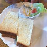 Ciao - 料理写真:ホットサンド・ほうれん草ベーコン