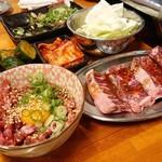 焼肉ホルモン 大饗屋 - 料理写真:写真はすべて一人前です