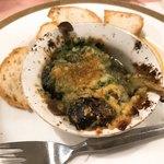 レストラン クインベル - エスカルゴのオーブン焼き 860円