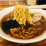 竹の家 - 中華そばの麺はこれだ!