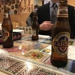 93275504 - 2018/03 ここ日本ではアルコイリス 川崎店にしかないというペルーのクリスタルビール