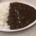 菊屋食堂 - ビーフカレー大2辛  800円