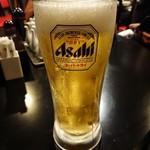 鶴姫 - ドリンク写真:生中 450円