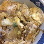 長寿庵 - ミニでも丁寧に作られたかつ丼のアタマ