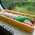 93278751 - [2018/08]さんま寿司(650円)