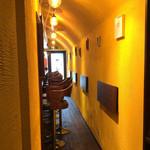 Osteria&bar Ristoro - トンネルっぽい印象