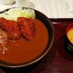 上州ぽ~く亭 - ソースヒレカツカレー(¥1200)