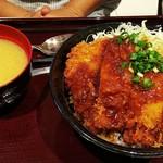 上州ぽ~く亭 - タレカツ丼(¥980)