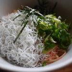 からびな - 料理写真:明太子とわかしらすパスタ