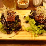 Samadhi Veggie Food - 料理写真:Taco Fantástico