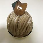 93280891 - 国産和栗モンブラン    甘さが上品。