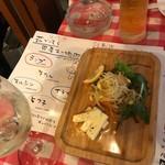 肉寿司 薪焼き キッチンひろ - お通し