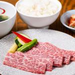神戸牛ロースランチ 1,480円(税抜)