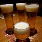 ラ・クローヌ - カールスバーグで乾杯