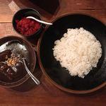 ヴィラ・アフガン - ビーフカレー(和牛すね肉煮込み) ライスサイズS・辛さ普通