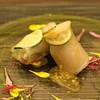 O2 - 料理写真:帆立貝と梨の生春巻き