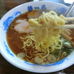 特一番 - 加藤ラーメンさんの低加水旭川麺