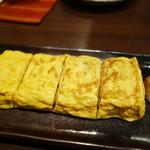 蕎麦おざき - 玉子焼。
