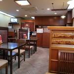 新潟古町 藪そば - 店内です