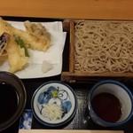 信州安曇野手打蕎麦 たか瀬 - 天ぷらせいろ(1490円)