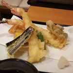 信州安曇野手打蕎麦 たか瀬 - 天ぷら