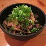 いざかや メネフネ - 「鮪血合い生姜煮」450円