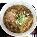 らーめん ひらき家 - 焦がし醤油ラーメン_750円
