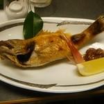ホテル飛鳥 - のどくろの塩焼き。超美味しい!(^-^)