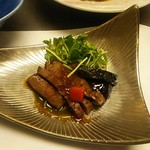 ホテル飛鳥 - 牛肉のタタキ。(*^^*)