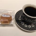 サザコーヒー KITTE - マドレーヌと本日のコーヒーMサイズで670円